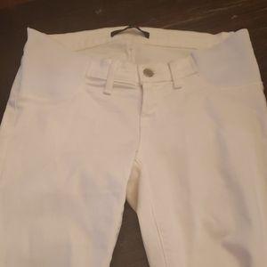 J brand maternity 26 jeans white